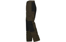 Fjällräven Men's Barents Trousers dark olive/black